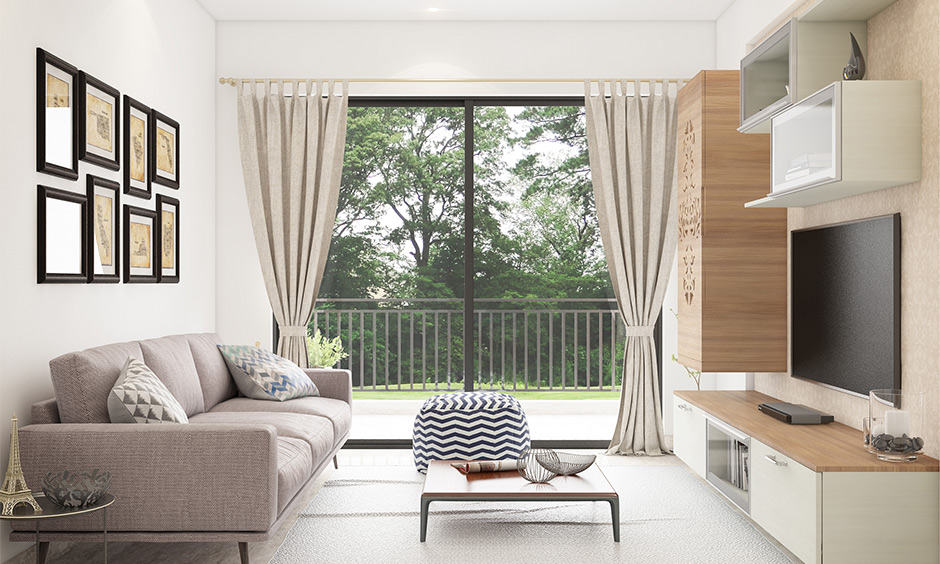 what colour curtains goes with white