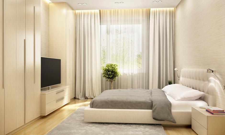 9 bright white bedroom curtain ideas