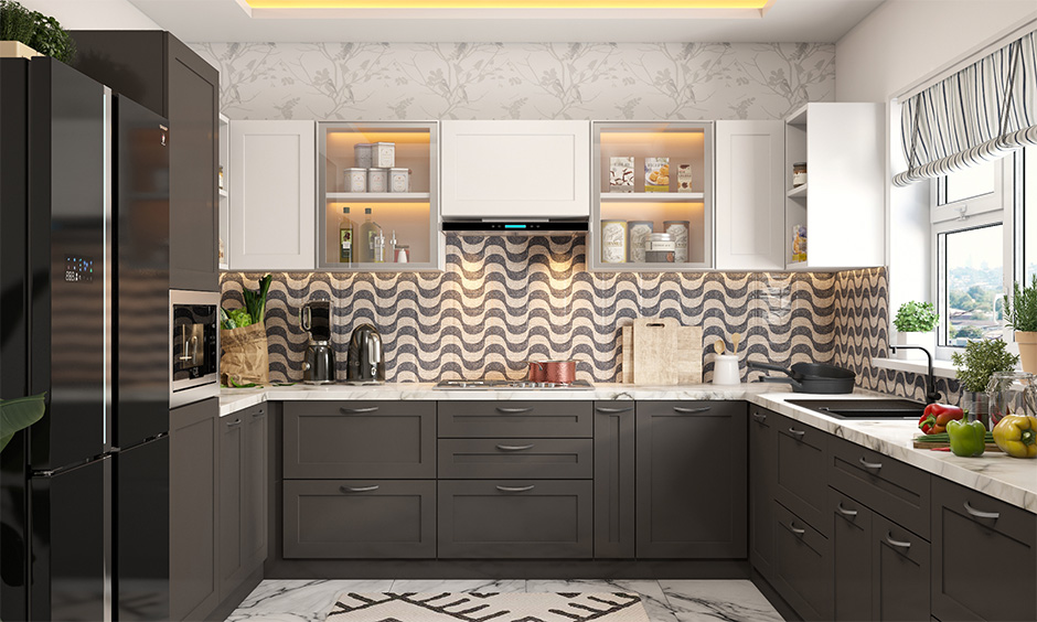 Kitchen interior design mistakes avoid obstruction by anything for less effortless movement between sink, fridge and stove.