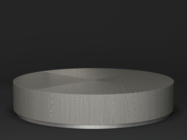 Machinto Round Coffee Table 3d Model Restoration Hardware USA