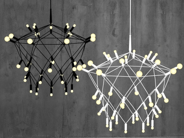 Orbit Chandelier 1