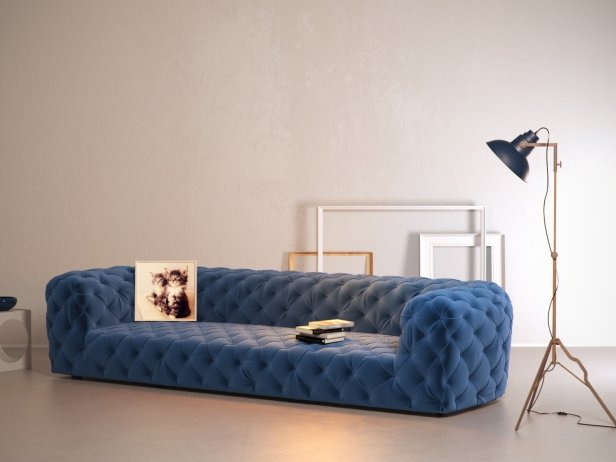 Chester Moon Sofa 3d Model Baxter
