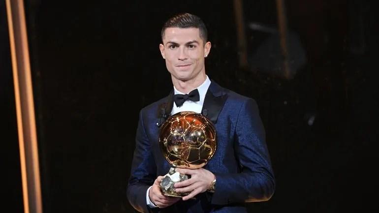 Cristiano Ronaldo ganó el premio en las temporadas2008