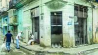 Vista parcial de una calle en La Habana.