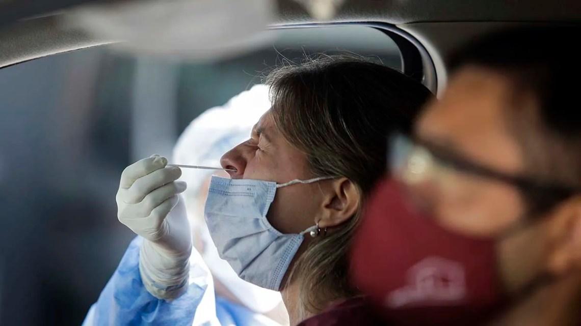 Coronavirus en Argentina: 9.838 nuevos casos y 174 muertos