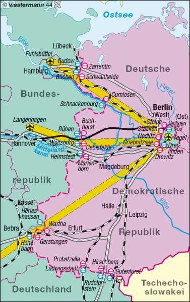 Diercke Weltatlas Kartenansicht Berlins Verbindungen Zur