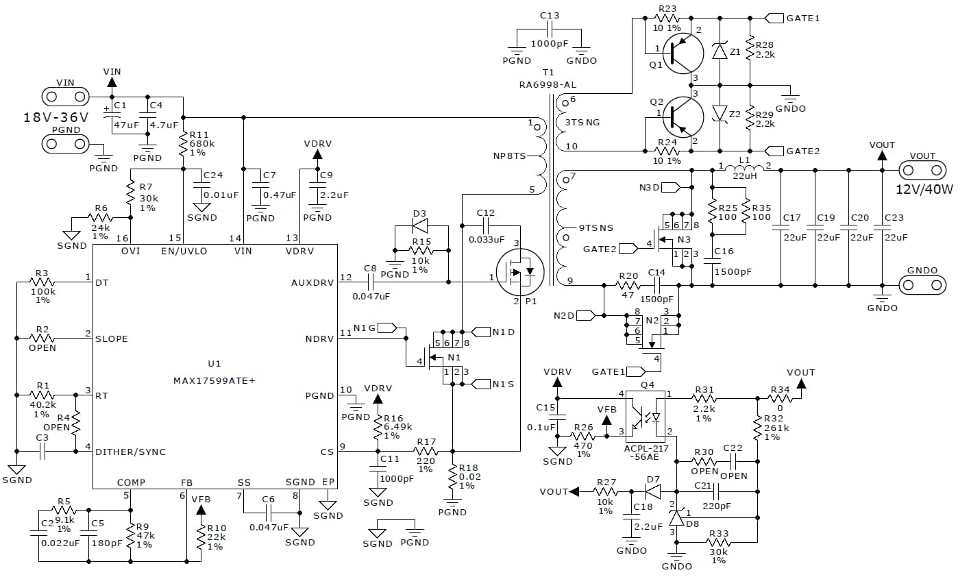 Ac Dc And Dc Dc Conversion Reference Designs