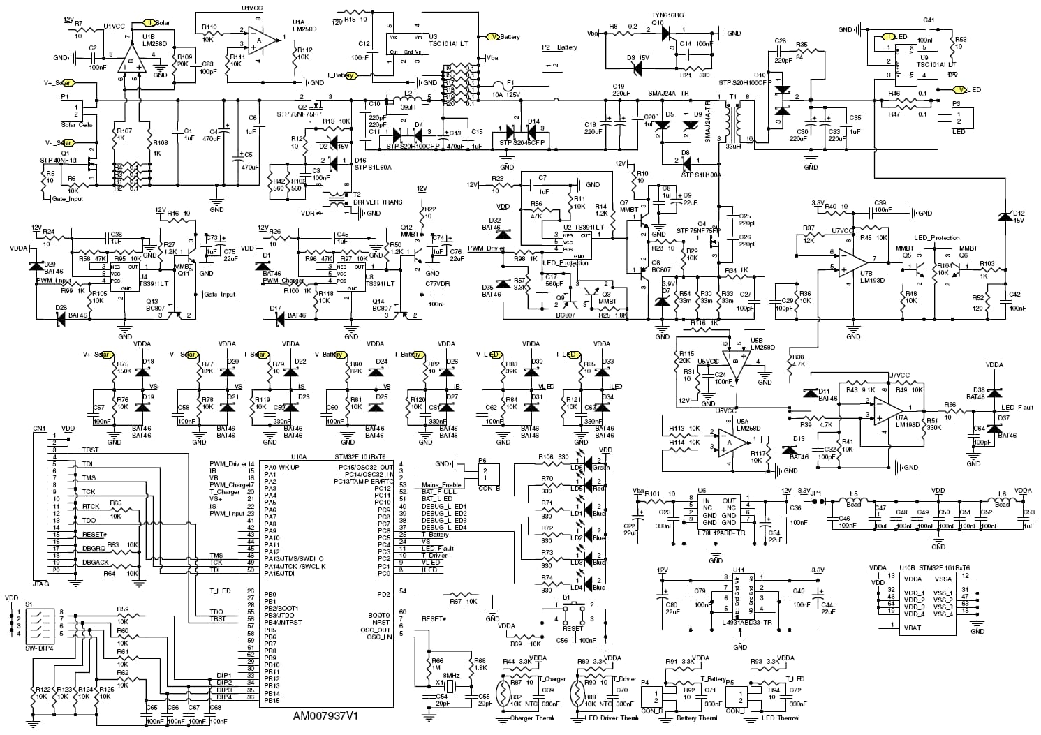 Led Wiring Diagram Controller Driver