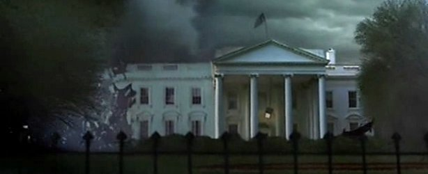 The White House is torn apart in Category 7.