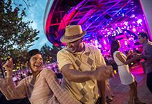 Guests at Garden Rocks Concert Series
