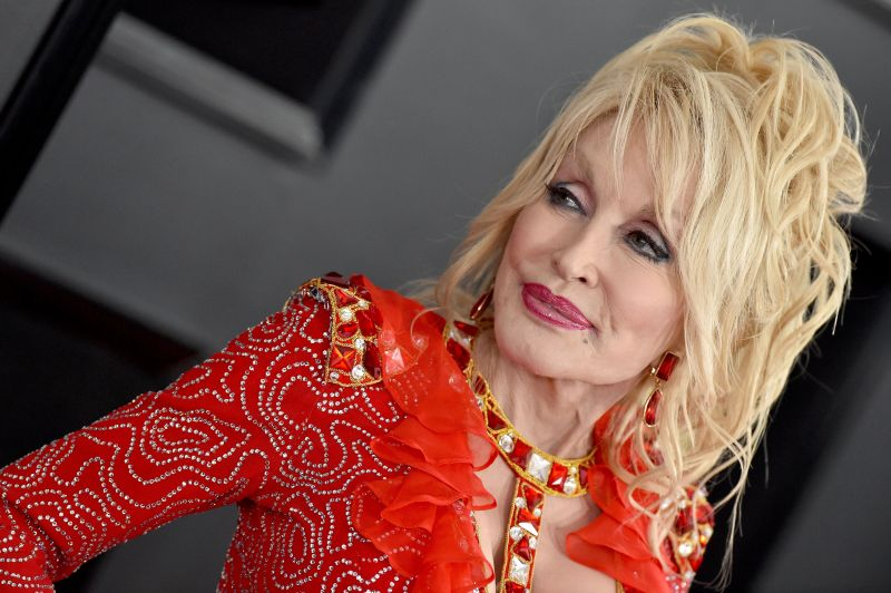 Dolly Parton Rarely Seen With No Makeup