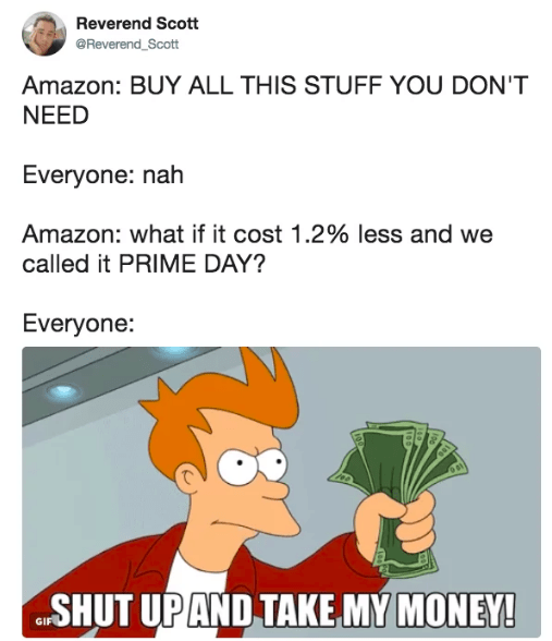 Laugh At These Amazon Prime Day Memes Instead Of Buying Useless Stuff