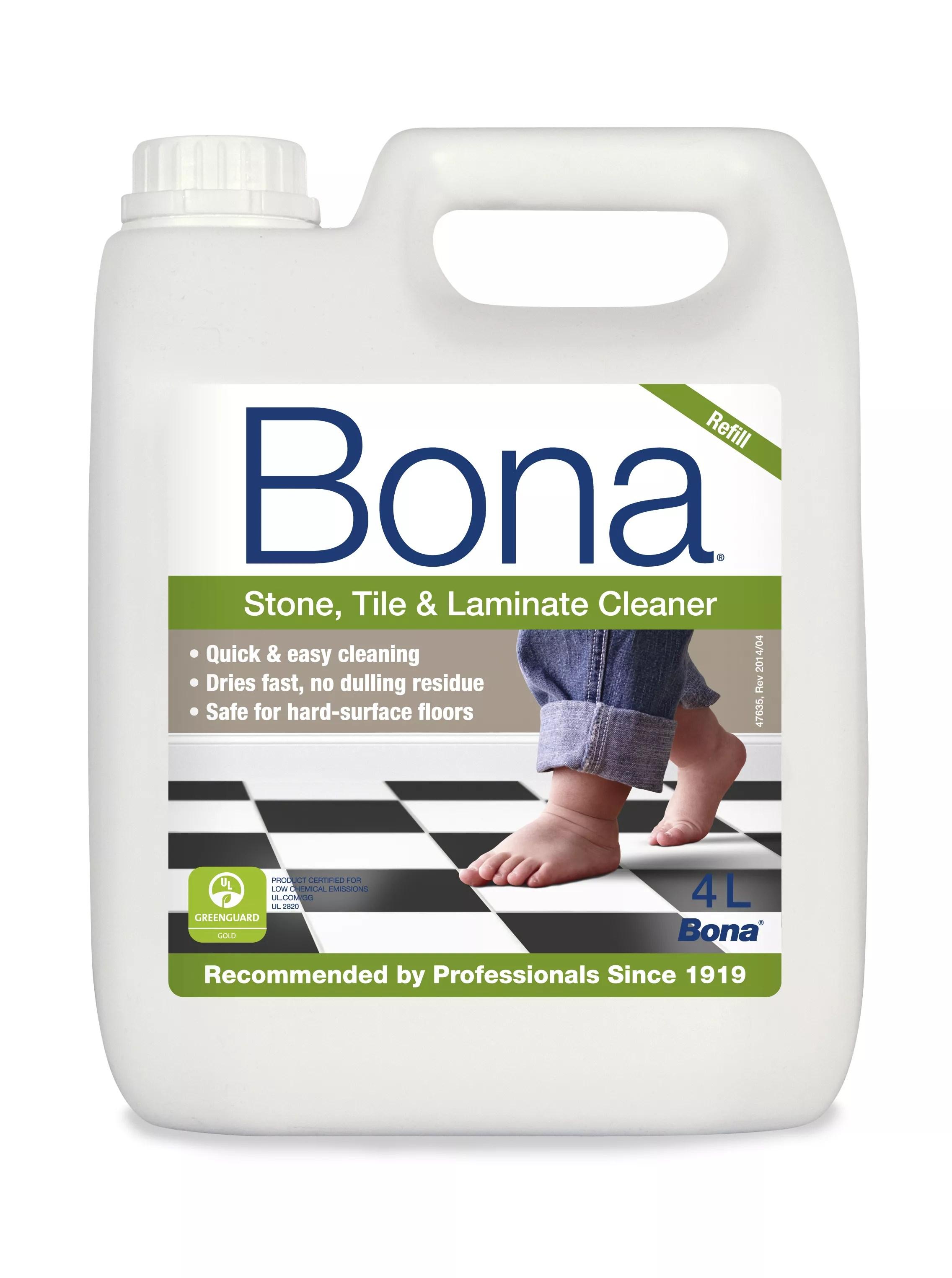 bona stone tile laminate floor cleaner 4l