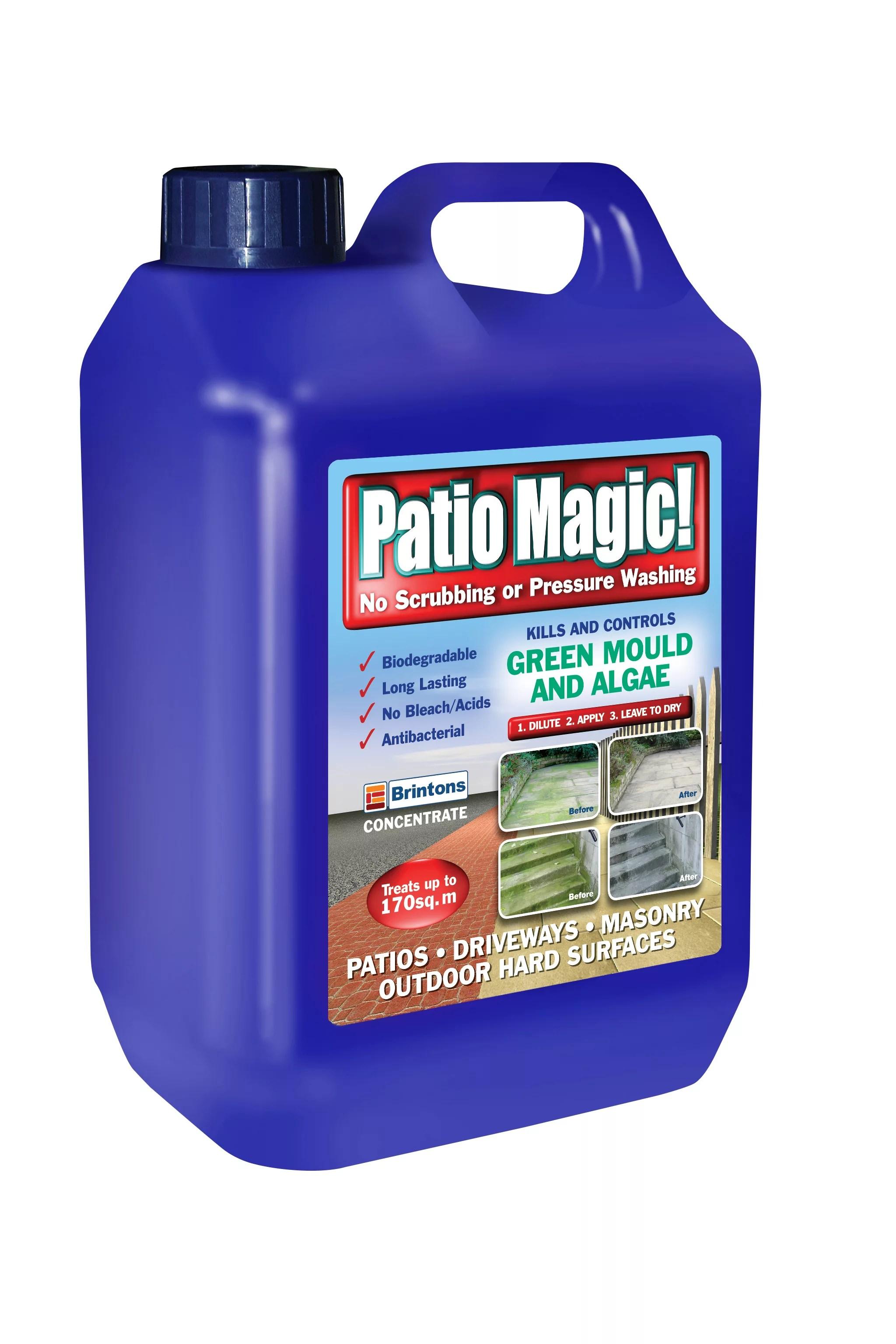 brintons patio magic patio driveway cleaner