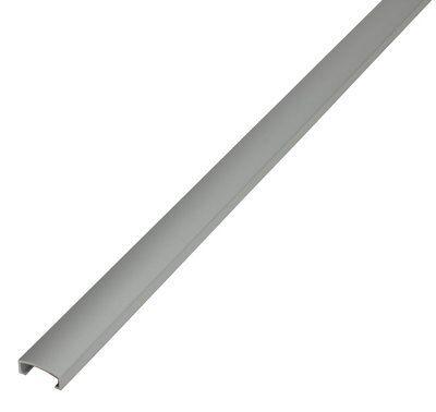 diall aluminium eased edge listello tile trim 8mm diy at b q