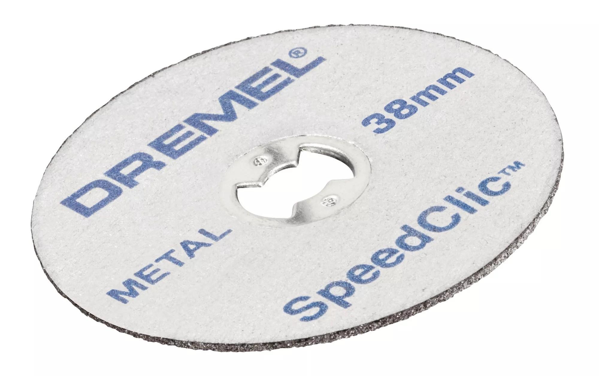 dremel ez speedclic metal cutting disc dia 38mm pack of 12