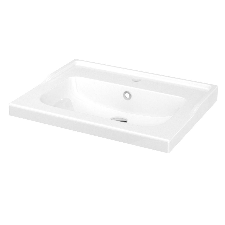 Goodhome Lana Counter Mounted Counter Top Basin W 60 4cm Diy At B Q