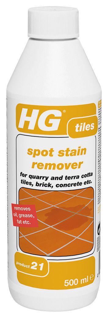 hg tiles spot stain remover 500ml