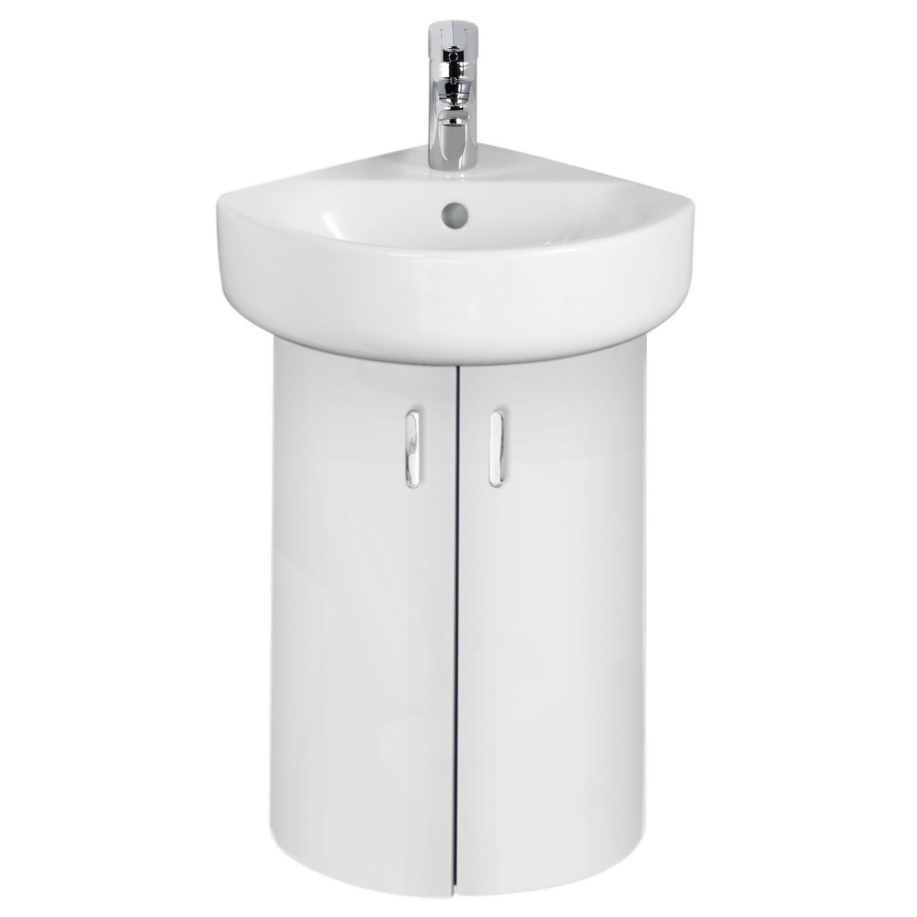 ideal standard imagine compact white vanity corner unit basin mixer pack