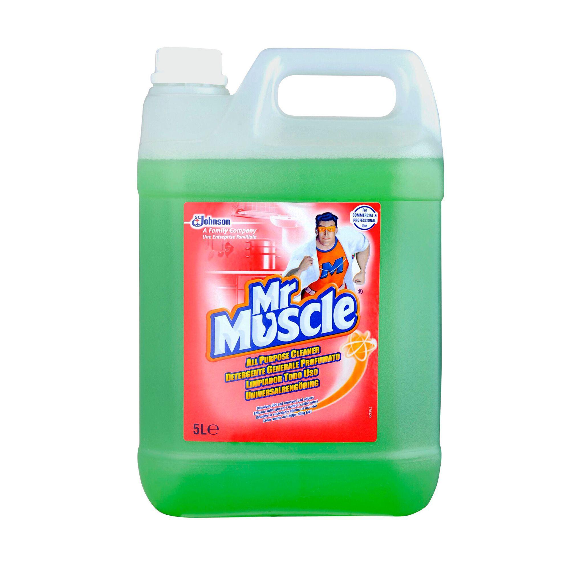 mr muscle tile cleaner 5l