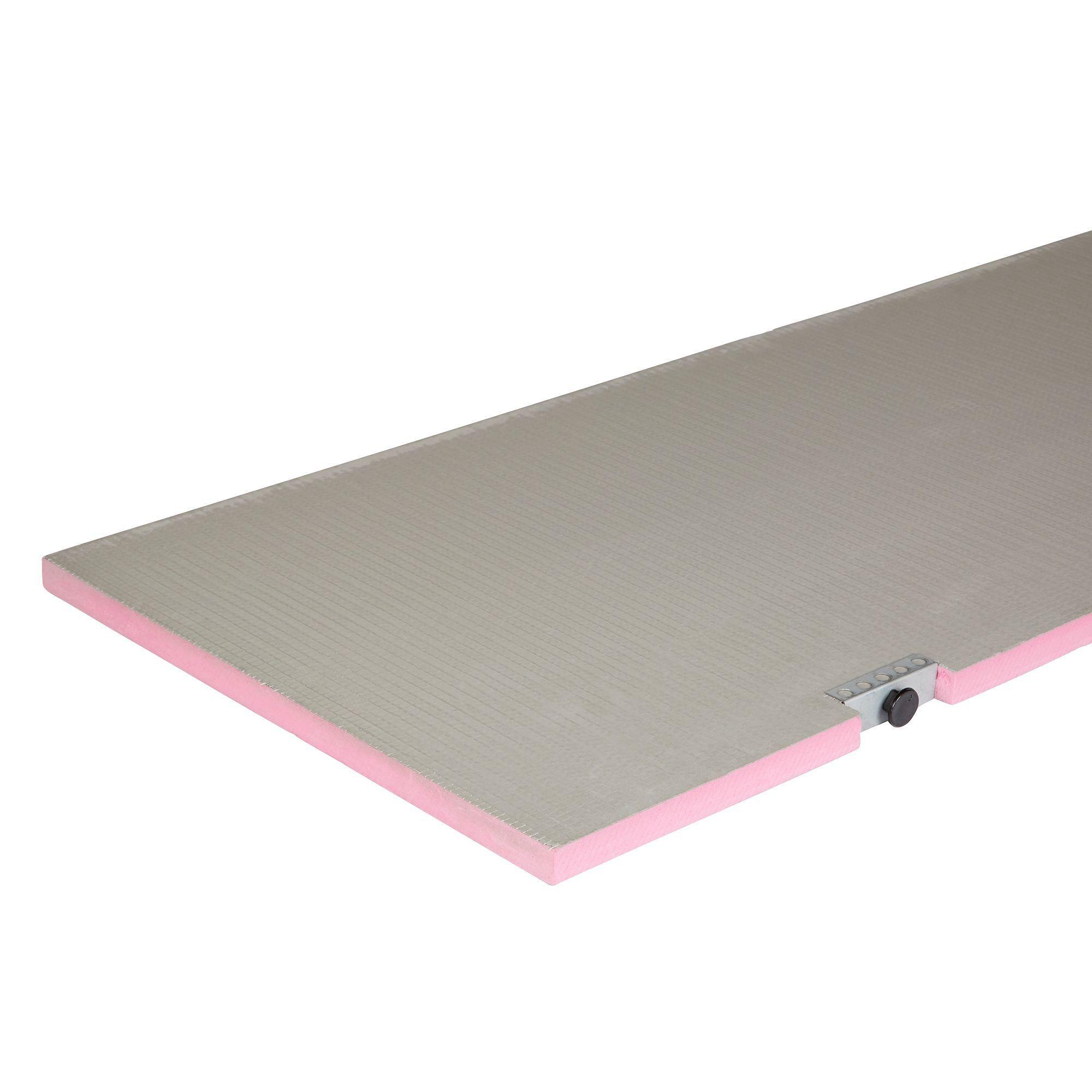 q board cement fibreglass cloth pink right handed bath panel w 600mm