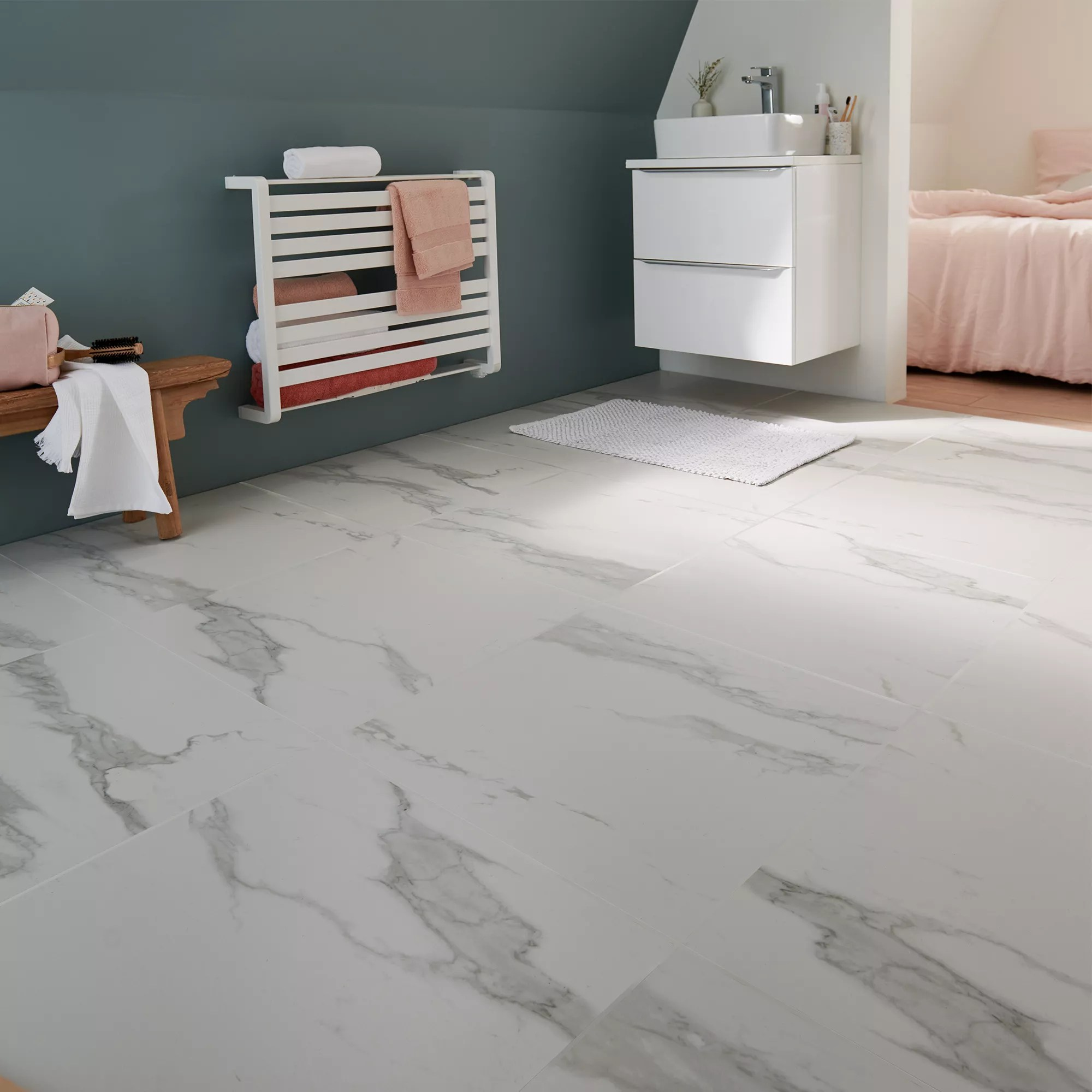 ultimate white marble