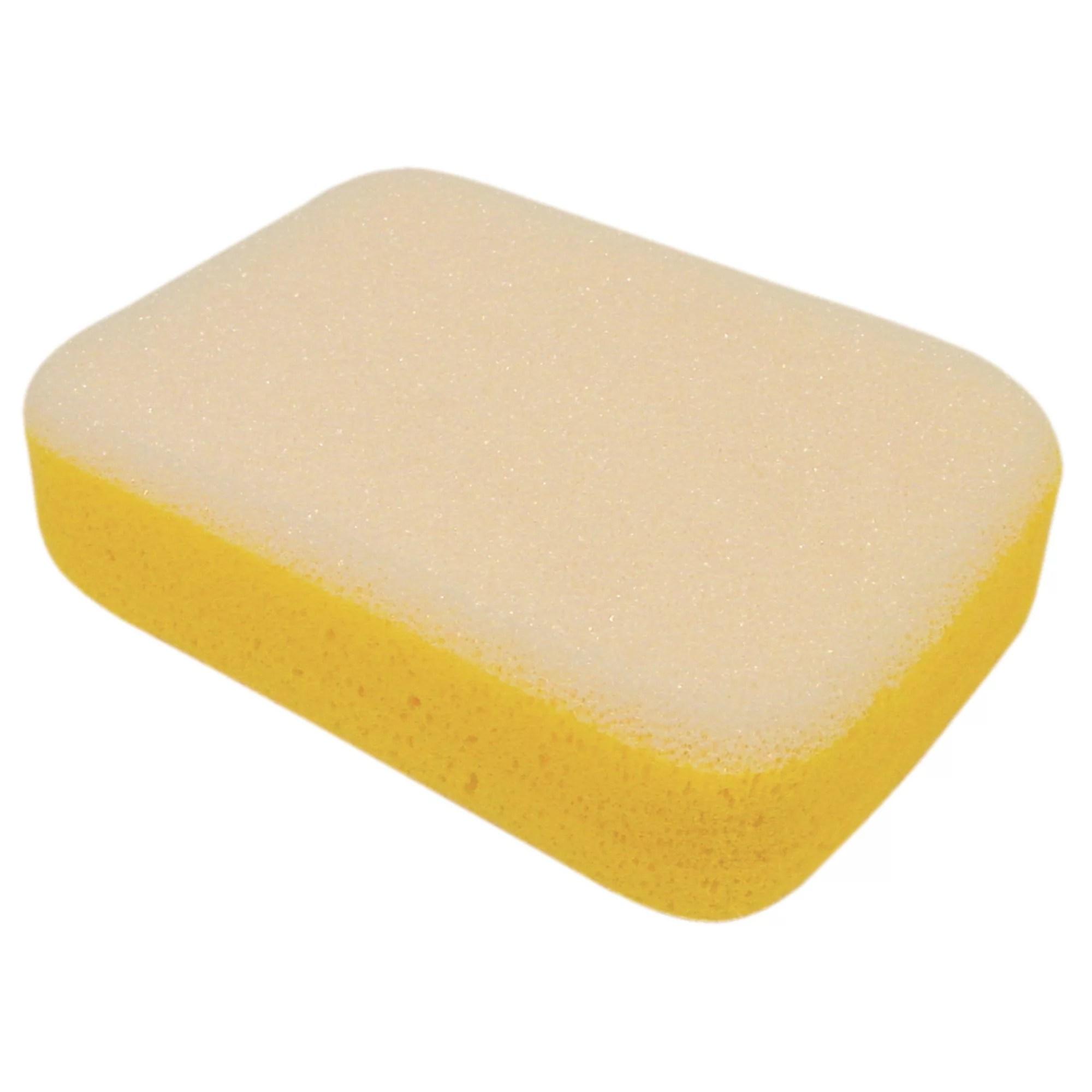 vitrex yellow grout sponge