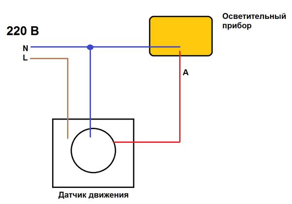 Cara menghubungkan sensor gerak ke bohlam cahaya: skema, koneksi, pengaturan dan instalasi