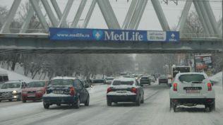 vremea in bucuresti strazi blocate cod portocaliu iarna viscol (85)
