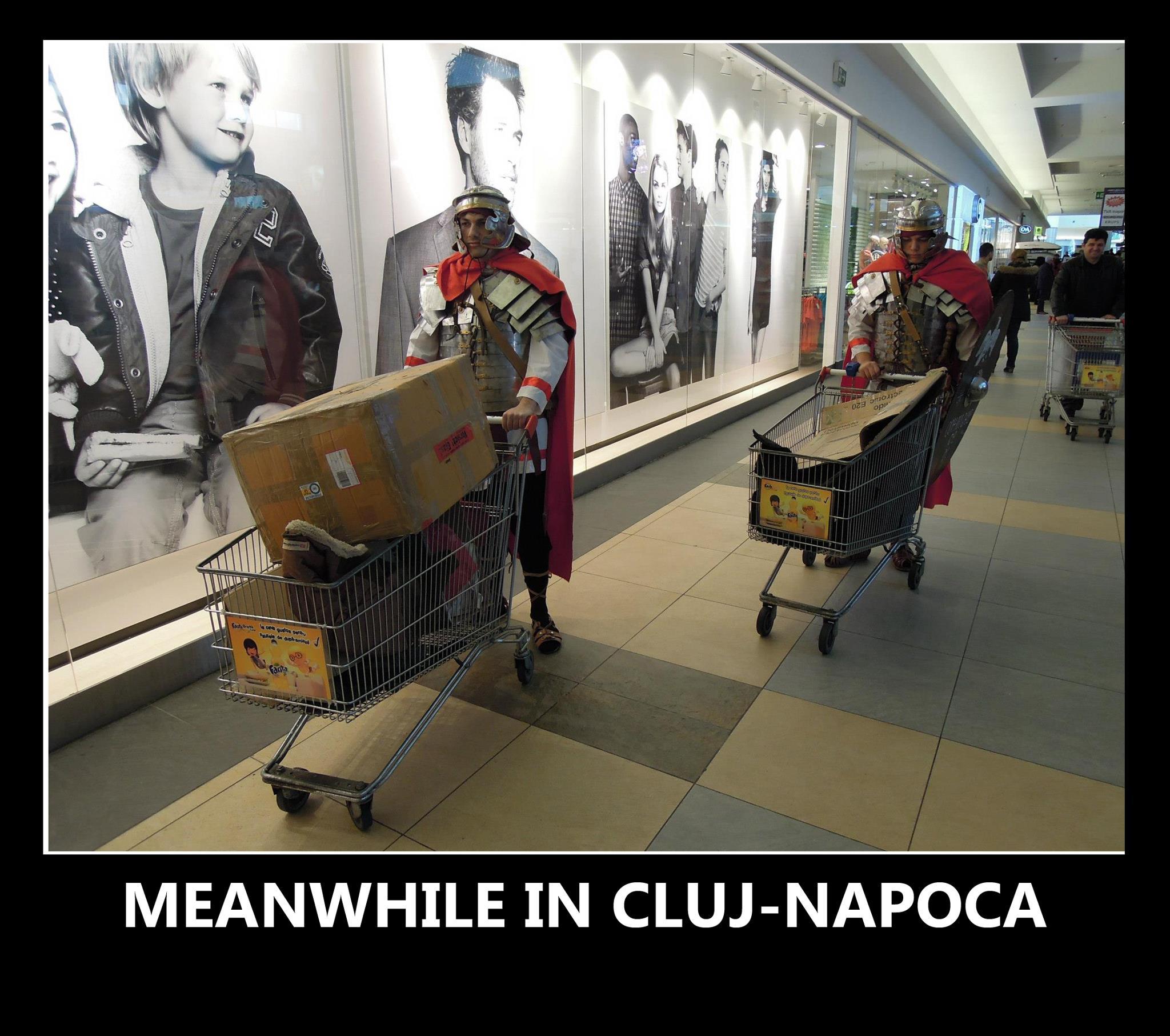 Meanwhile la Cluj