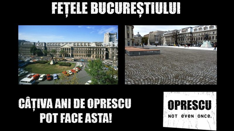 Va place Piata Universitatii?