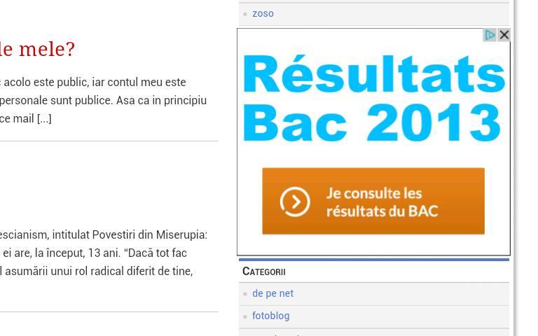 Rezultate Bac 2013