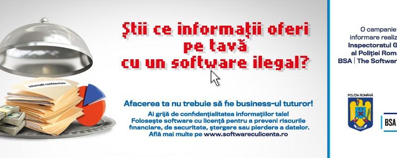 400.000 de euro, prejudiciul din pirateria software in 2013