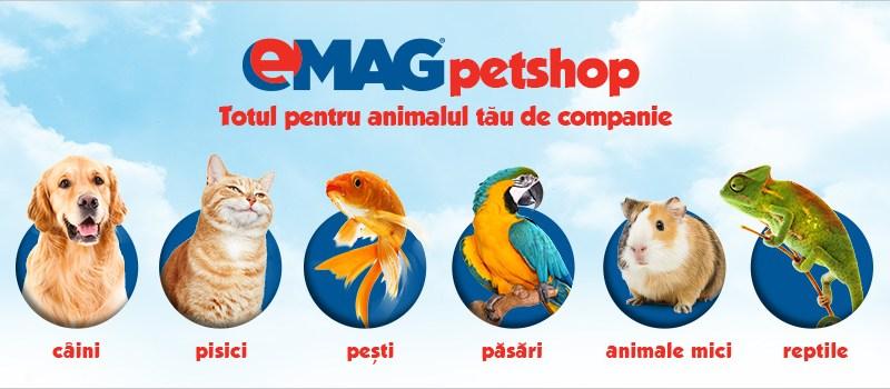 Mancare pentru animale de la Emag