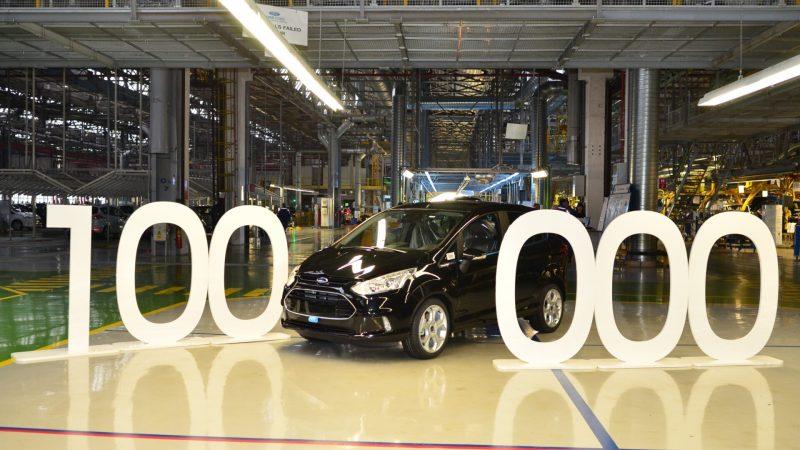 Masina Ford cu numarul 100.000 produsa la Craiova