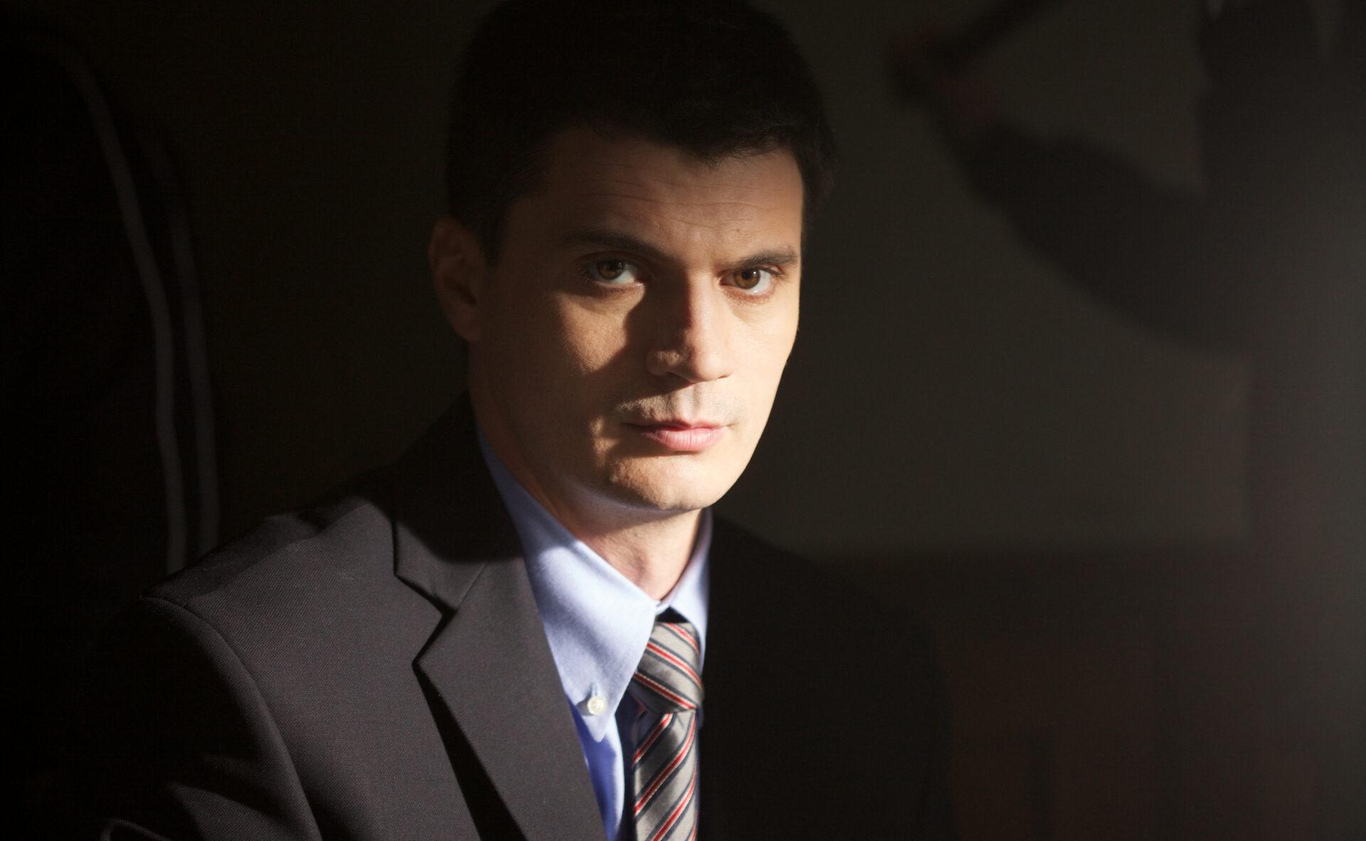Turcescu a devenit actor, de fapt