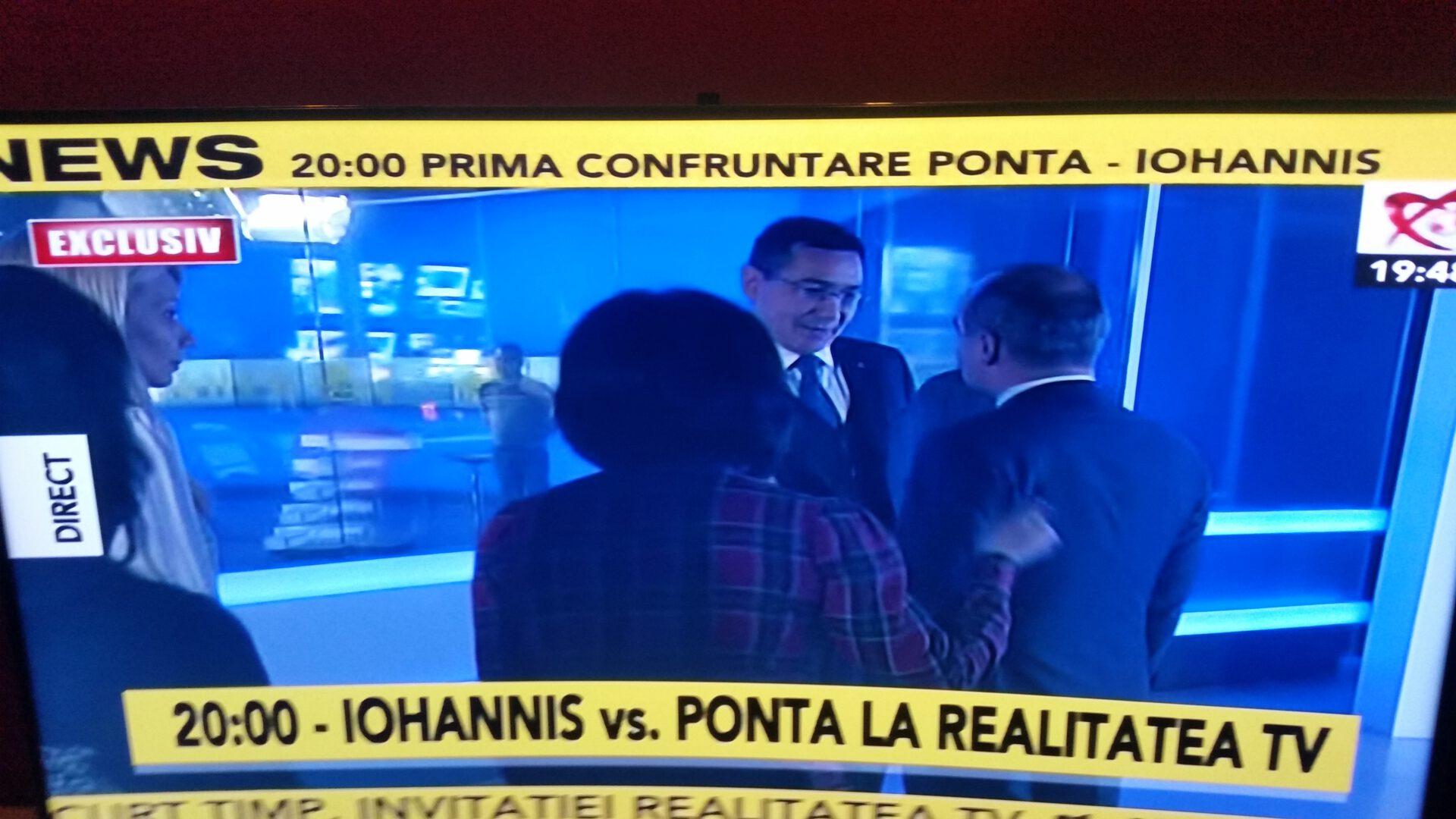 Confruntarea Klaus Iohannis – Victor Ponta, cine a castigat
