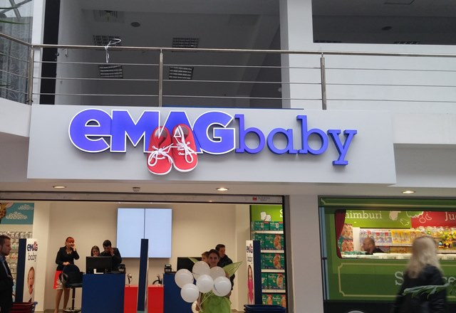 eMAG lanseaza eMAG Baby, articole si jucarii pentru copii