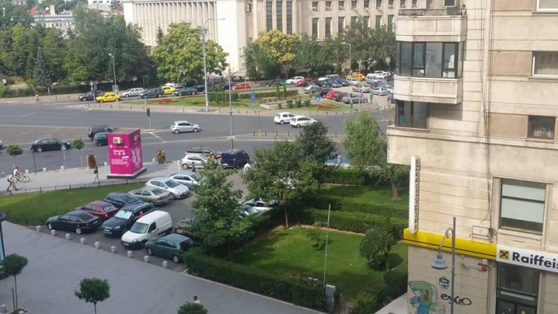 Unde se doarme cel mai bine în București? În Piața Victoriei