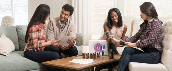 sharing essential oils with Class in a Box