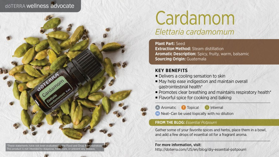 Bilderesultat for cardamom doterra