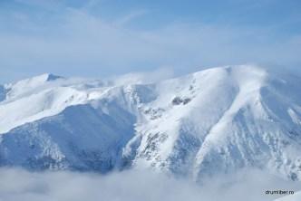 Peisaje montane superbe (de pe Varful Papusa)
