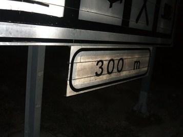 300 de metri până la benzinaria magică