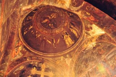 Manastirea Strehaia interior 2