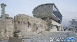 Portul Tomis Iarna, februarie 2012