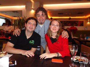 Cu Anca (i-tour.ro) si Ioannis (Tortuga) la lansarea Elixir Travel