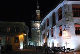 Casa cu cerb, Turnul cu Ceas - Cetatea Medievală Sighișoara