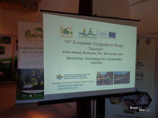 Congresul european de turism rural - seminar Drumuri Verzi