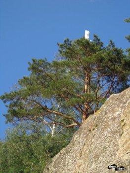 Steag în vârf