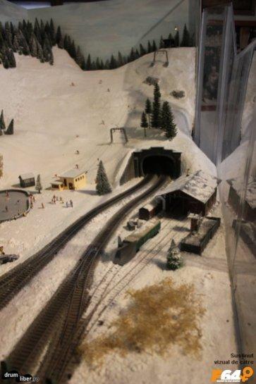 Intrarea într-un tunel